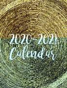 Cover-Bild zu Killeen, Katharine T.: 2020-2021 Calendar: 2 Year Jan 2020 - Dec 2021 Daily Weekly Monthly Calendar Planner for to Do List Academic Schedule Agenda Logbook or St