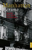 Cover-Bild zu Paxmann, Christine: Manhattan crime