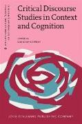 Cover-Bild zu Hart, Christopher (Hrsg.): Critical Discourse Studies in Context and Cognition (eBook)