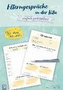 Cover-Bild zu Kleine Kita-Helfer: Elterngespräche in der Kita - einfach protokolliert von Verlag an der Ruhr, Redaktionsteam