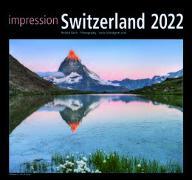 Cover-Bild zu Cal. Impression Switzerland 2022 Ft. 30x30