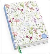 Cover-Bild zu Lovely Flowers Taschenkalender 2022 - Blumen-Design - Terminplaner mit Wochenkalendarium - Format 11,3 x 16,3 cm
