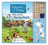 Cover-Bild zu Pettersson und Findus: Mein großes ABC-Stempelbuch von Nordqvist, Sven