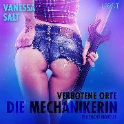 Cover-Bild zu eBook Verbotene Orte: die Mechanikerin - Erotische Novelle