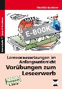 Cover-Bild zu Vorübungen zum Leseerwerb (eBook) von Konkow, Monika