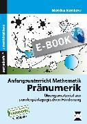 Cover-Bild zu Anfangsunterricht Mathematik: Pränumerik (eBook) von Konkow, Monika
