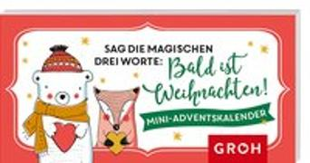 Cover-Bild zu Sag die magischen drei Worte: Bald ist Weihnachten. Mini-Adventskalender