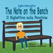 Cover-Bild zu The Note on the Bench - English/Italian edition
