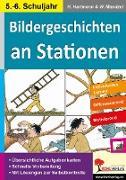 Cover-Bild zu Bildergeschichten an Stationen 5/6 (eBook) von Hartmann, Horst