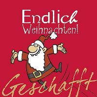Cover-Bild zu Geschafft! Endlich Weihnachten!