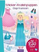 Cover-Bild zu Sticker-Anziehpuppen Eisprinzessin