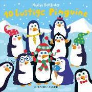 Cover-Bild zu 10 lustige Pinguine
