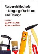 Cover-Bild zu Research Methods in Language Variation and Change von Krug, Manfred