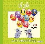 Cover-Bild zu Herzlichen Glückwunsch zum Geburtstag! von Stein, Uli