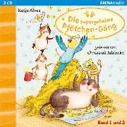 Cover-Bild zu Die supergeheime Pfötchen-Gäng (1&2). Der Zwei-Millionen-Körner Schatz. Die geheimnisvolle Glückskatze (Audio Download) von Alves, Katja