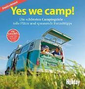 Cover-Bild zu HOLIDAY Reisebuch: Yes we camp! Deutschland (eBook) von Stadler, Eva