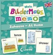 Cover-Bild zu Mein Bildermaus-Memo - Englisch - Zuhause - At Home