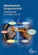Cover-Bild zu Arbeitsbuch Zerspantechnik von Bergner, Oliver