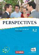 Cover-Bild zu Perspectives, Französisch für Erwachsene, Ausgabe 2009, A2, Kurs- und Arbeitsbuch mit Lösungsheft und Wortschatztrainer, Inkl. komplettem Hörmaterial (2 CDs) von Delacroix, Anne