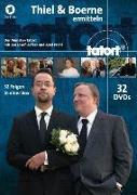Cover-Bild zu Tatort Münster - Thiel und Boerne ermitteln von Schriever, Bernd (Ausw.)