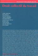 Cover-Bild zu Droit collectif du travail