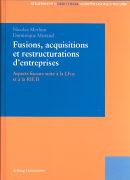 Cover-Bild zu Fusions, acquisitions et restructurations d'entreprises