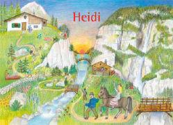 Cover-Bild zu Heidi 5. Klara auf der Alp