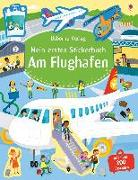 Cover-Bild zu Mein erstes Stickerbuch: Am Flughafen