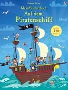 Cover-Bild zu Mein Stickerbuch: Auf dem Piratenschiff
