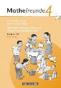 Cover-Bild zu Mathefreunde, Ausgabe Süd 2010 (Sachsen, Thüringen), 4. Schuljahr, Handreichungen für den Unterricht, Mit Lernzielkontrollen, Beobachtungsbögen und Lösungen von Ladel, Silke