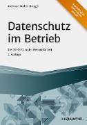 Cover-Bild zu Datenschutz im Betrieb (eBook) von Walter, Axel (Hrsg.)
