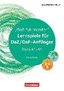 Cover-Bild zu Lernspiele Sekundarstufe I, Deutsch als Zweitsprache, Klasse 5-10, Wohlfühlmonitor, Kopiervorlagen von Böschel, Claudia