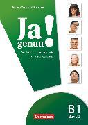 Cover-Bild zu Ja genau!, Deutsch als Fremdsprache, B1: Band 2, Kurs- und Übungsbuch mit Lösungsbeileger und Audio-CD von Böschel, Claudia