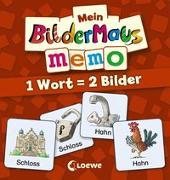 Cover-Bild zu Mein Bildermaus-Memo - 1 Wort = 2 Bilder