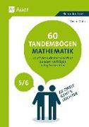 Cover-Bild zu 60 Tandembögen Mathematik in den Klassen 5 und 6 von Mohr, Vivian