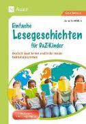 Cover-Bild zu Einfache Lesegeschichten für DaZ-Kinder von Weber, Annette