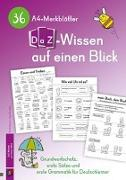 Cover-Bild zu 36 A4-Merkblätter DaZ-Wissen auf einen Blick von Verlag an der Ruhr, Redaktionsteam