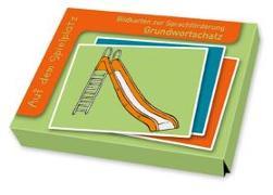 Cover-Bild zu Bildkarten zur Sprachförderung: Auf dem Spielplatz von Boretzki, Anja (Illustr.)