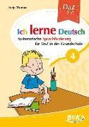 Cover-Bild zu Ich lerne Deutsch Band 4 von Thomas, Sonja
