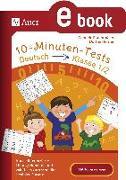 Cover-Bild zu 10-Minuten-Tests Deutsch - Klasse 1/2 (eBook) von Herrler, Dörthe