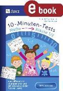Cover-Bild zu 10-Minuten-Tests Mathematik - Klasse 1/2 (eBook) von Herrler, Dörthe