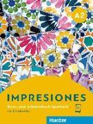Cover-Bild zu Impresiones A2. Kursbuch + Arbeitsbuch + 2 Audio-CDs von Balboa Sánchez, Olga