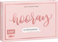 """Cover-Bild zu Hooray - 12 Handlettering Postkarten: Tanja """"Frau Hölle"""" Cappell von Cappell, Tanja (Illustr.)"""