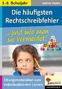 Cover-Bild zu Die häufigsten Rechtschreibfehler von Hauke, Sabine