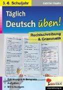 Cover-Bild zu Deutsch-Flyer Rechtschreibung & Grammatik von Hauke, Sabine