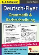 Cover-Bild zu Deutsch-Flyer Rechtschreibung & Grammatik (eBook) von Hauke, Sabine