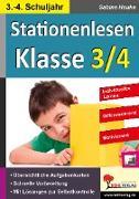 Cover-Bild zu Stationenlesen Klasse 3/4 (eBook) von Hauke, Sabine