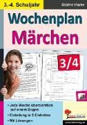 Cover-Bild zu Wochenplan Märchen / Klasse 3-4 (eBook) von Hauke, Sabine