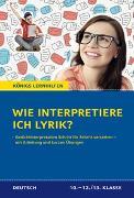 Cover-Bild zu Wie interpretiere ich Lyrik? - Anleitung und Übungen von Brand, Thomas