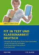 Cover-Bild zu Fit in Test und Klassenarbeit - Deutsch. 7./8. Klasse Gymnasium von Süß, Peter